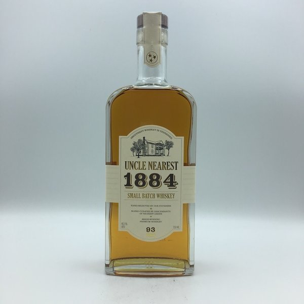 Uncle Nearest 1884 Small Batch 93 proof Whiskey 750ML