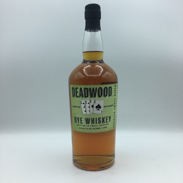 Deadwood Rye Whisky Liter