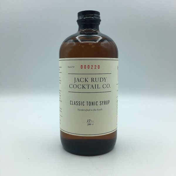 Jack Rudy Small Batch Tonic Syrup 16OZ