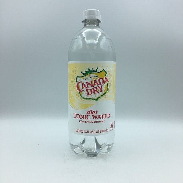 Canada Dry Diet Tonic Water Liter