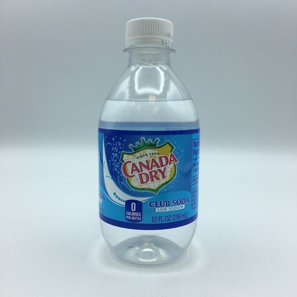 Canada Dry Club Soda Water 6PK 10OZ