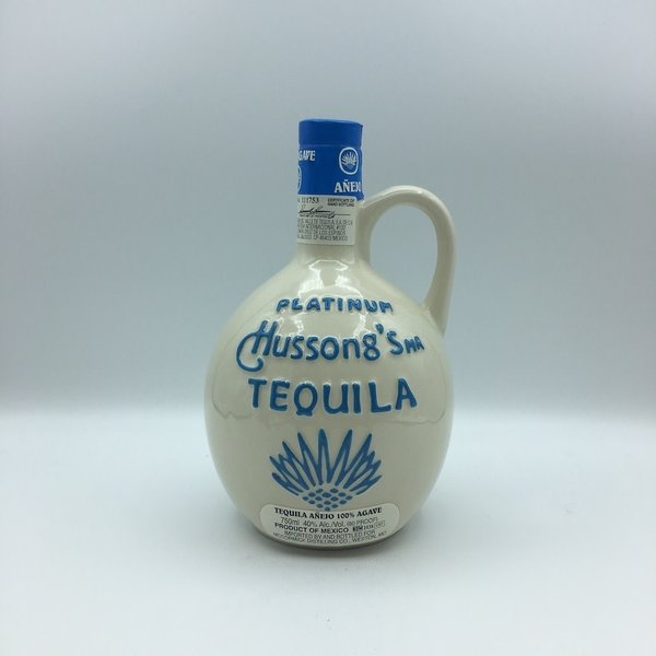 Hussong's Platinum Anejo Tequila 750ML
