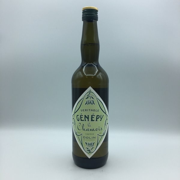 Dolin de Chambery Veritable Genepy des Alpes Wormwood Aperitif 750ML