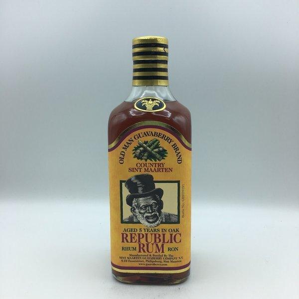 Old Man Guavaberry Rupublic Rum 5YR 750ML