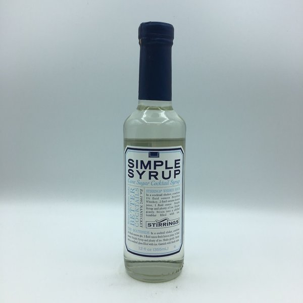 Stirrings Simple Syrup 12OZ