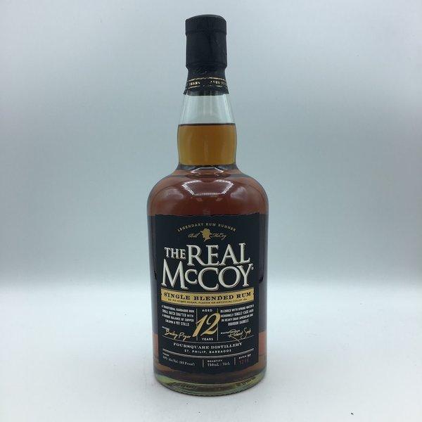 The Real Mccoy Single Blended Rum 12YR 750ML