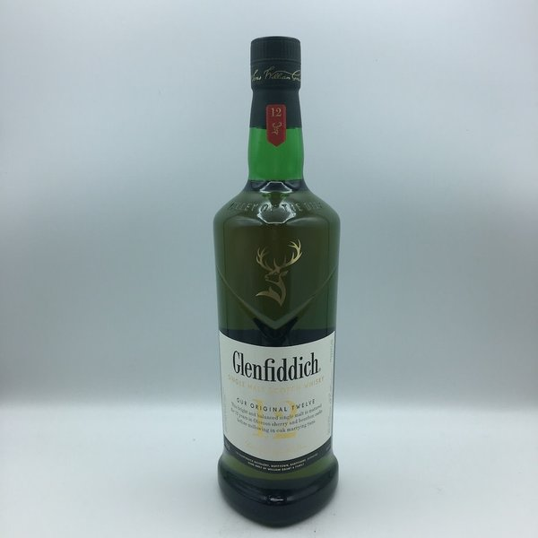 Glenfiddich Scotch Whisky 12YRS Liter