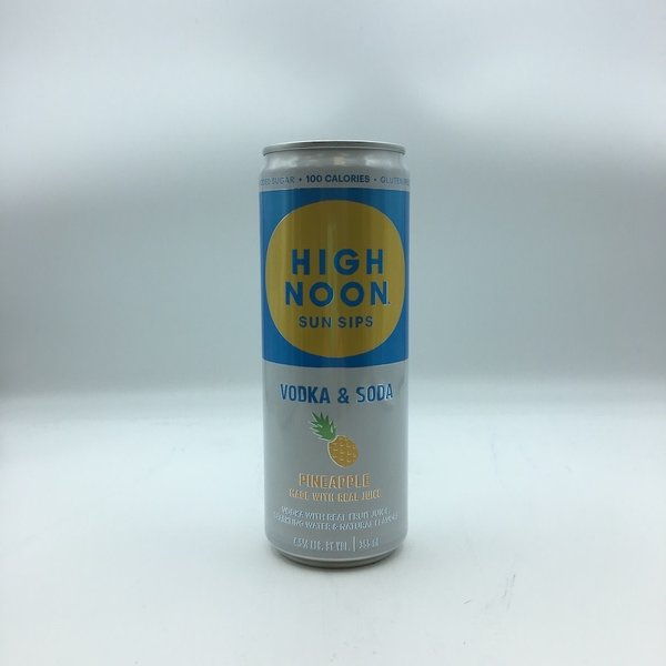 High Noon Pineapple Vodka & Soda 4PK 355ML