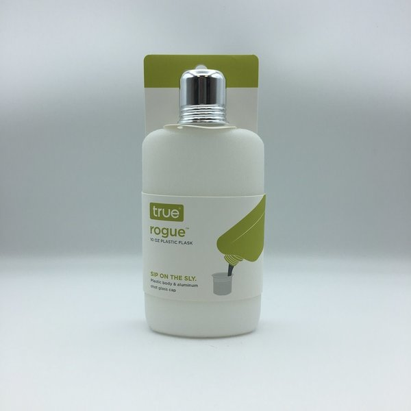 True 10OZ Plastic Flask