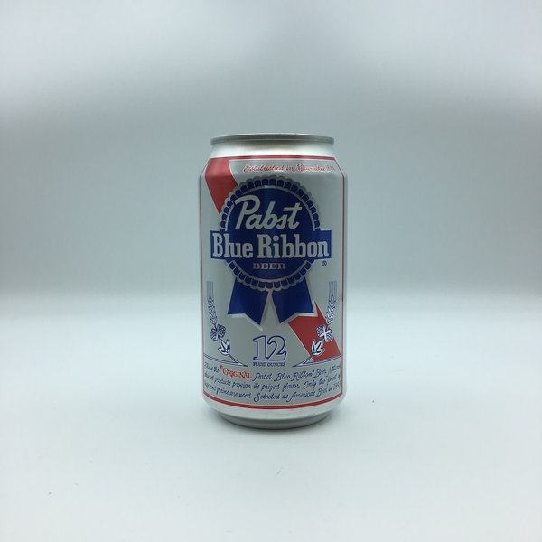 Pabst Blue Ribbon PBR Cans 12PK 12OZ