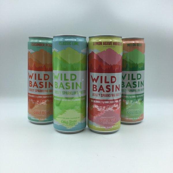Oskar Blues Wild Basin Boozy Sparkling Water 12PK 12OZ