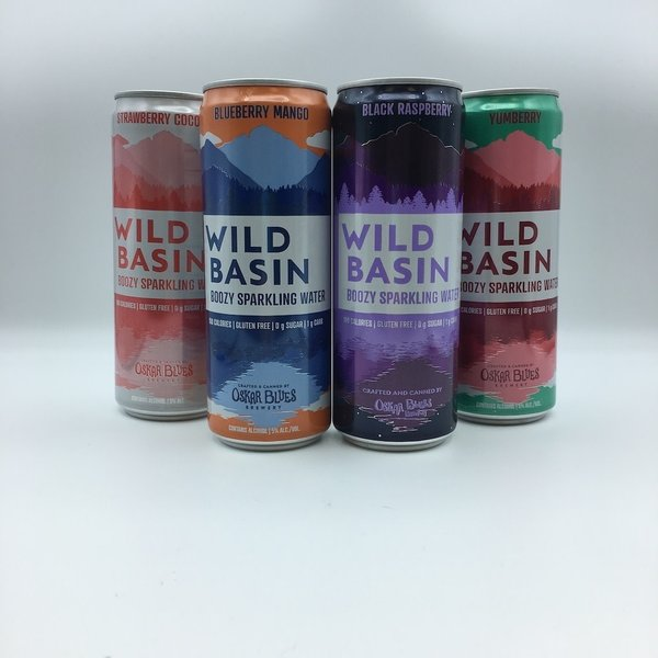 Oskar Blues Wild Basin Berry Variety 12PK 12OZ