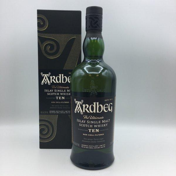 Ardbeg 10YR Islay Scotch Whisky 750ML