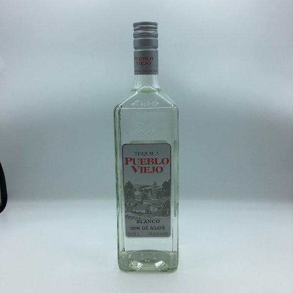 Pueblo Viejo Blanco Tequila Liter