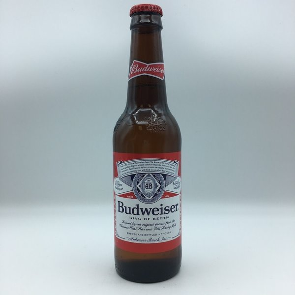 Budweiser Bottles 12PK 12OZ