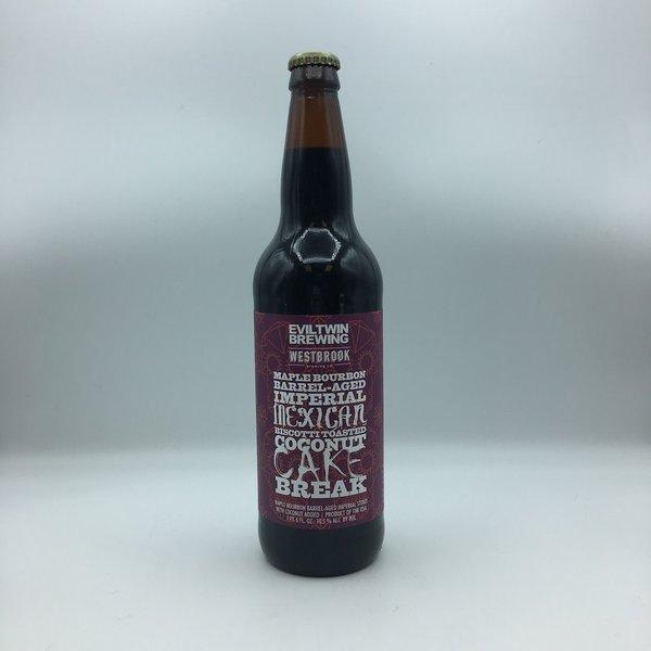 Eviltwin Brewing Maple-Bourbon BIMBTCC Break SINGLE 22OZ