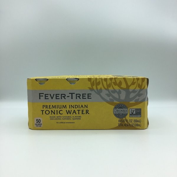 Fever Tree Indian Tonic Cans 8PK 5OZ