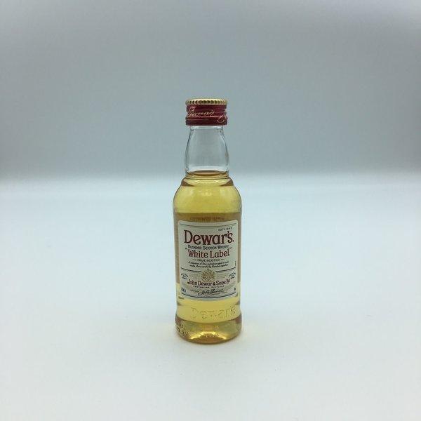 Mini Dewar's White Label Blended Scotch Whisky 50ML