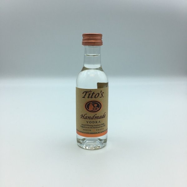 Mini Tito's Vodka 50ML