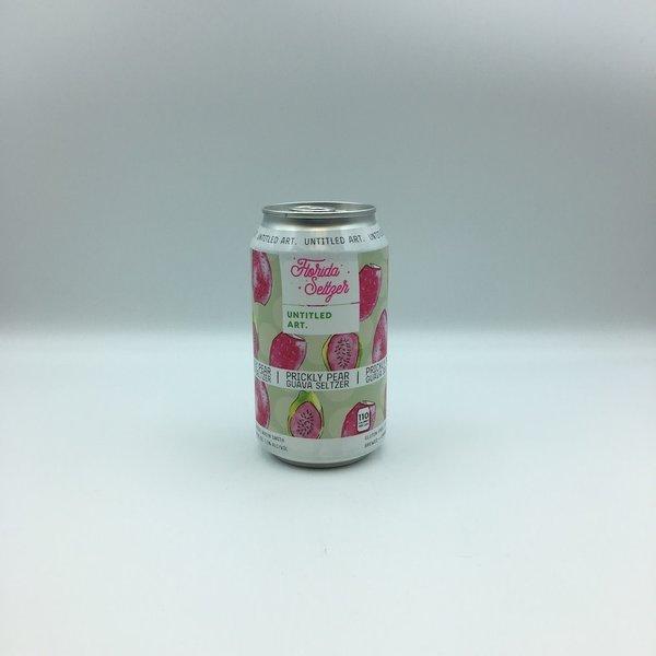 Untitled Art Florida Seltzer Prickly Pear Guava Hard Seltzer 4PK 12OZ