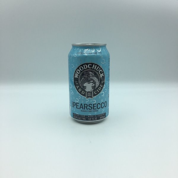 Woodchuck Pearsecco Bubbly Dry Cider Cans 6PK 12OZ
