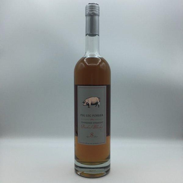 Peg Leg Porker 8YR Bourbon Whiskey 750ML