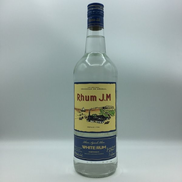 Rhum J.M. White Rum Liter