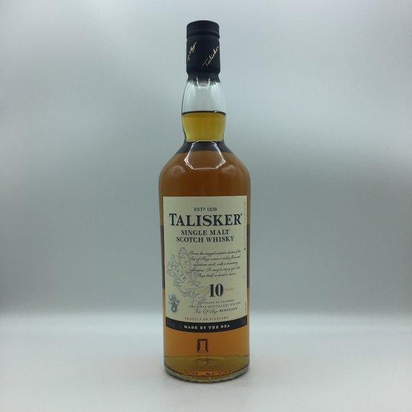 Talisker 10YR Single Malt  Scotch Whiskey 750ML