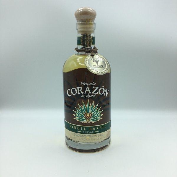 Corazon Tequila Single Barrel- Aged in Blanton's Barrel 750ML Elio's Store Pick