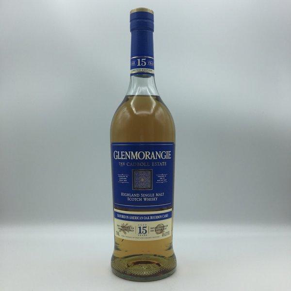 Glenmorangie Cadboll Estate 15YR Highland Single Malt Scotch Whisky 750ML