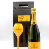 Send the gift of a bottle of Clicquot to Someone You Veuve