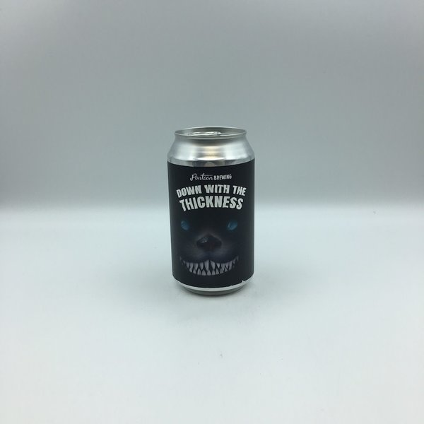 Pontoon Down with the Thickness Milk Stout SINGLE 12OZ