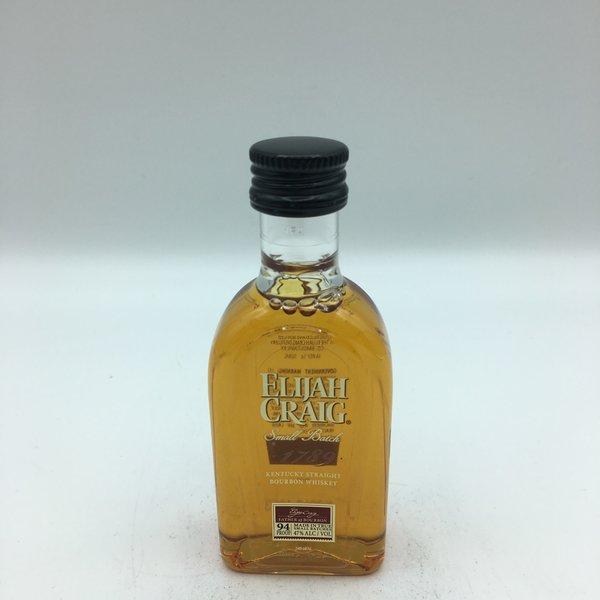 Mini Elijah Craig Small Batch Bourbon 50ML