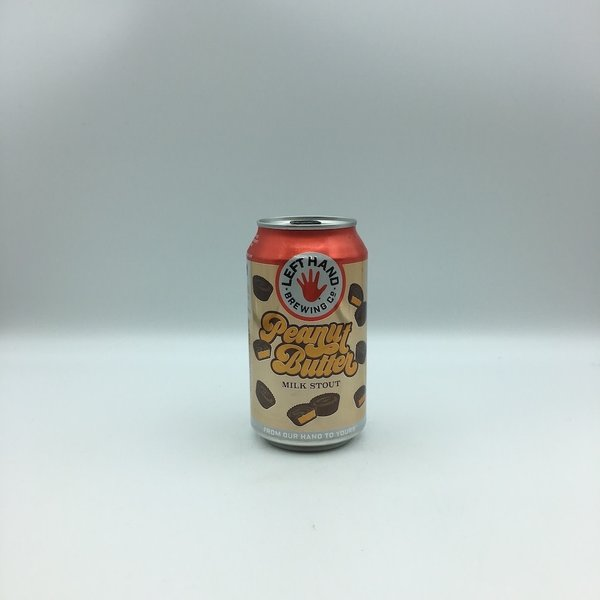Left Hand Peanut Butter Milk Stout 6PK 12OZ