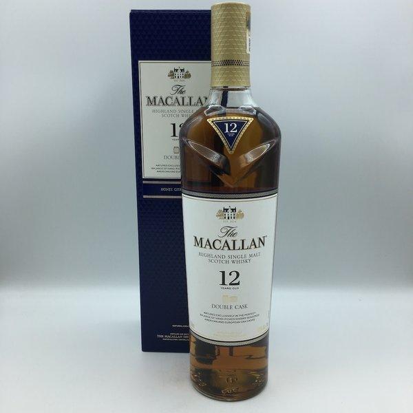 Macallan Double Cask Single Malt Scotch 12YRS 750ML