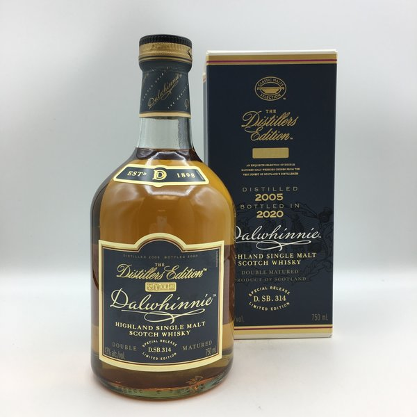 Dalwhinnie Distillers Edition 2020 Highland Single Malt Scotch Whisky 750ML