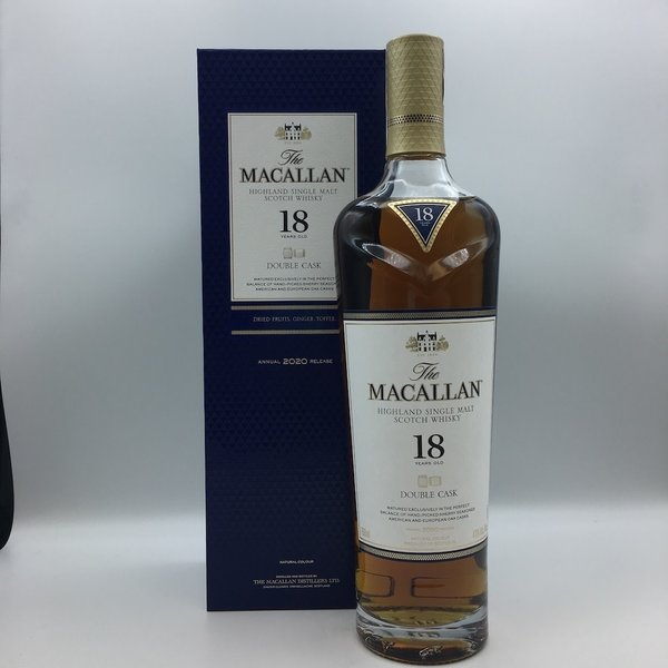 Macallan 18YR Double Cask Highland Single Malt Scotch Whisky
