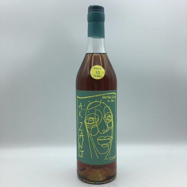 AK Zanj Haitian 10YR Dark Rum 750ML