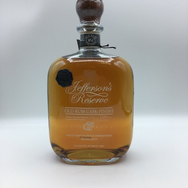 Jefferson's Reserve OId Rum Cask Finish Bourbon 750ML