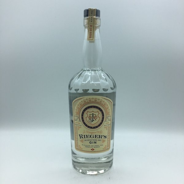 J. Rieger & Co. Midwestern Dry Gin 750ML