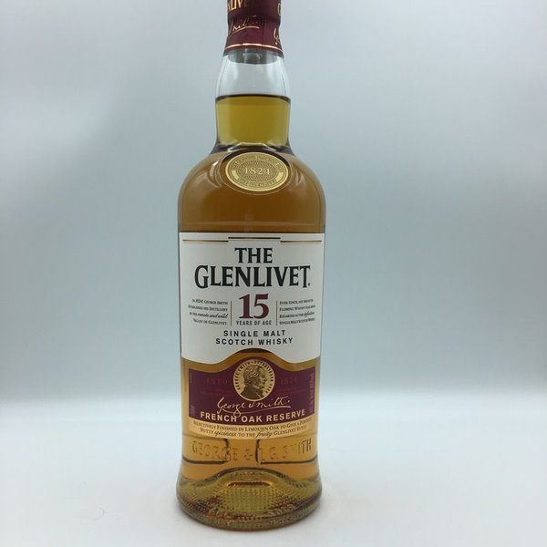 Glenlivet 15 Year French Oak Finish Scotch Whisky 750ML