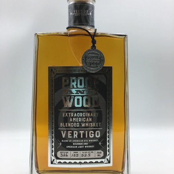Proof And Wood Vertigo American Blended Whiskey 750ML