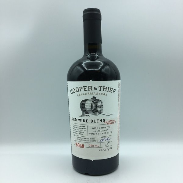 Cooper & Thief Bourbon Barrel Aged Red Blend 750ML