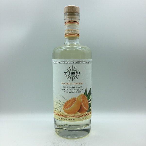 21 Seeds Valencia Orange Tequila 750ML