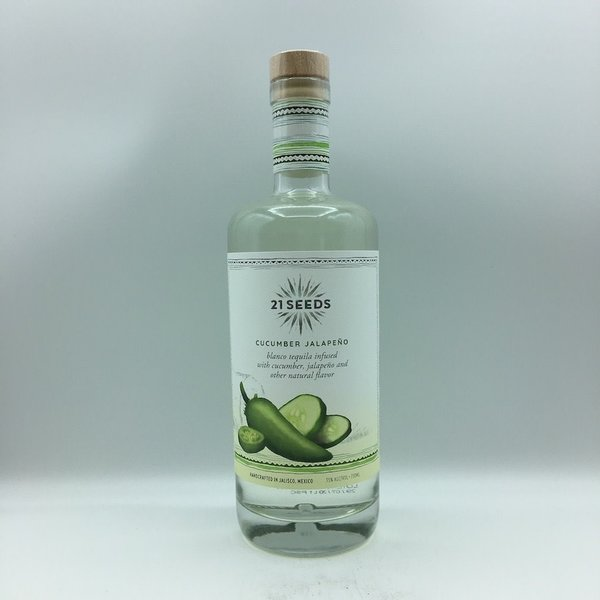 21 Seeds Cucumber Jalapeno Tequila 750ML