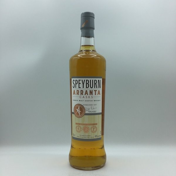 Speyburn Arranta Casks Scotch Whisky 750ML