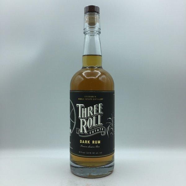 Three Roll Estate Dark Rum 750ML