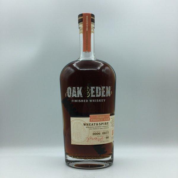 Oak & Eden Finished Whiskey Wheat & Spire Bourbon Whskey 750ML
