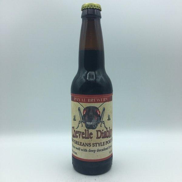 Royal Brewing Chevelle Diablo New Orleans Porter 6PK 12OZ