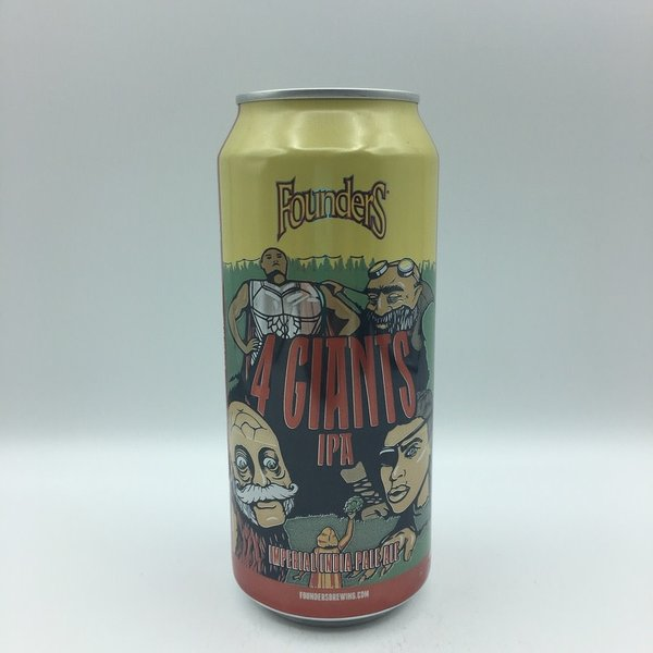 Founders 4 Giants Imperial IPA 4PK 16OZ